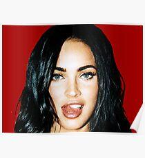 Megan_Tongue Poster