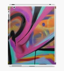Abstract Colorful Graffiti iPad Case/Skin