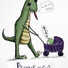 Pramasaurus the Mother Dinosaur by Extreme-Fantasy