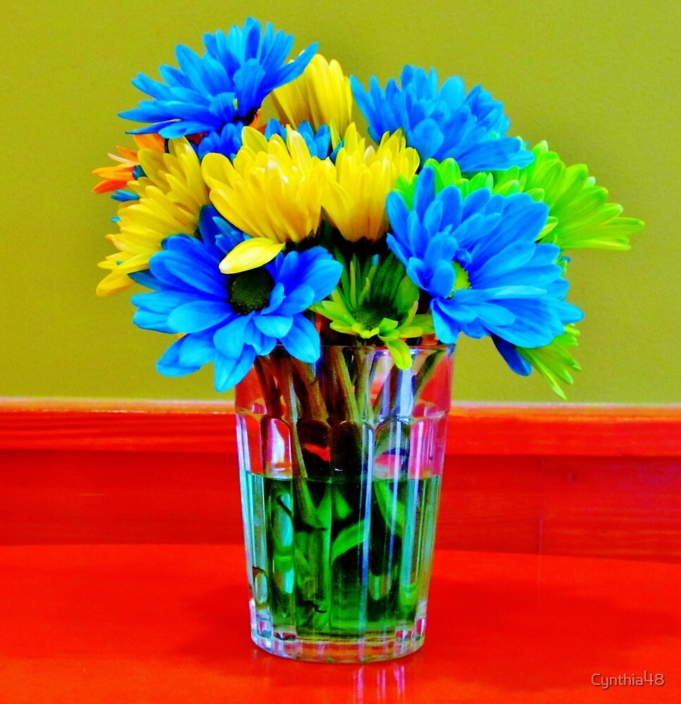 Beauty In A Vase by Cynthia48