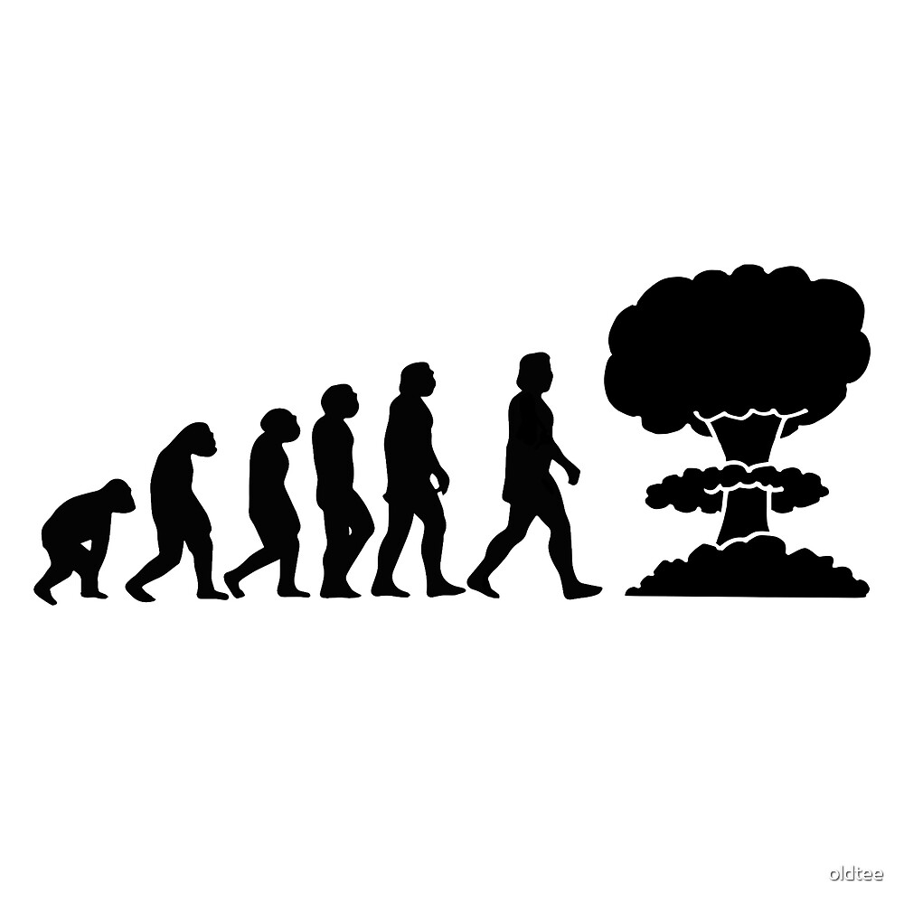 Evolution will ends by oldtee