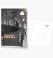 42nd St Station Postcards