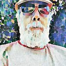 Man in cap and glasses. by Terry Collett