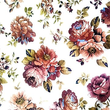 Floral print by LaFranceDesigns