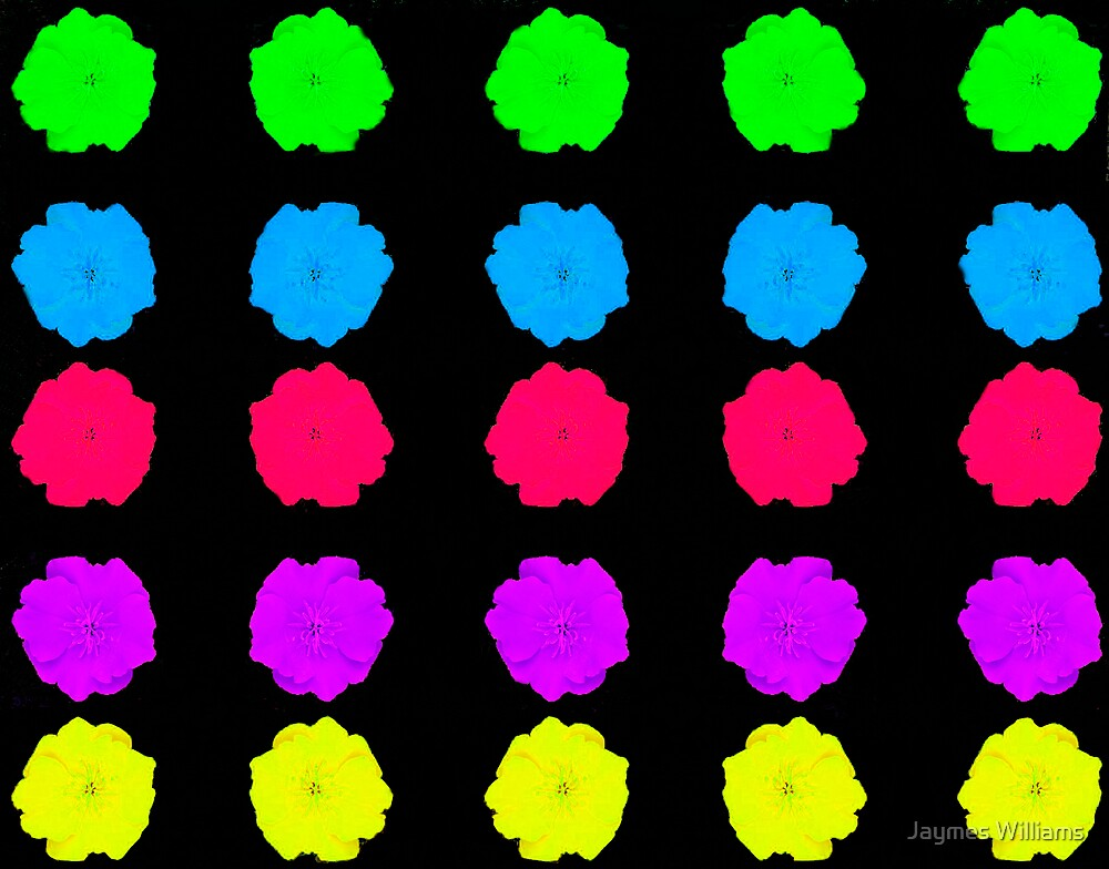 Pop-Art Poppies by Jaymes Williams