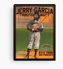 Jerry Garcia Tribute Night San Francisco Giants Canvas Print