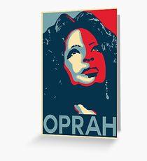 OPRAH (HOPE) Greeting Card