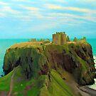 Dunnottar Castle. Scotland by David Rankin
