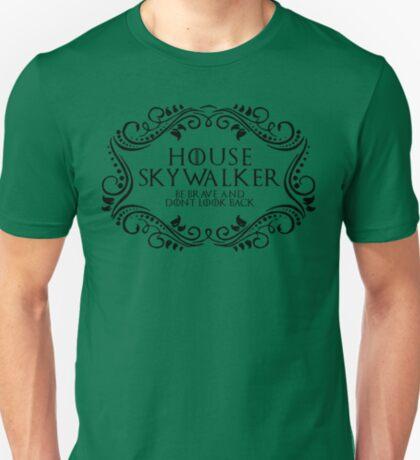 House Skywalker (black text) T-Shirt