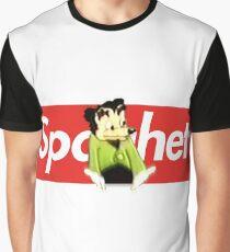 Spaghet Logo Box Parody Graphic T-Shirt