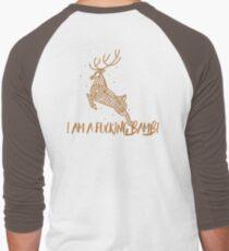 i am not a bambi dude Men's Baseball ¾ T-Shirt