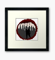 Zombie Control (Shooter) Framed Print