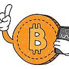 Bitcoin  by Guusdewolf
