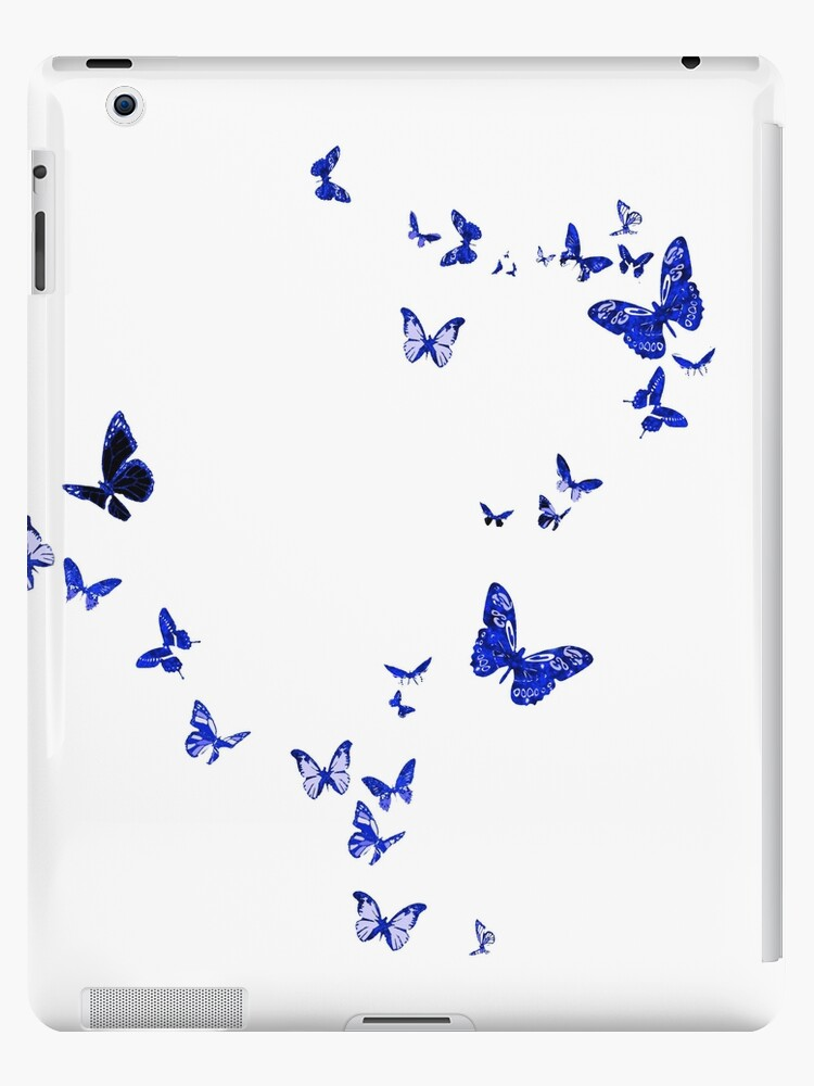 Blue Butterflies by Bamalam Art and Photography