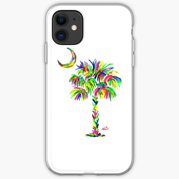 South Carolina is Simply Amazing Palm Tree iPhone Soft Case