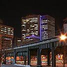 Downtown Winnipeg @ night #2 by Stephen Thomas