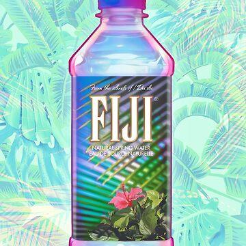 Fiji Water Vaporwave by ZiggyHali