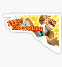 New Funky Mode! Sticker