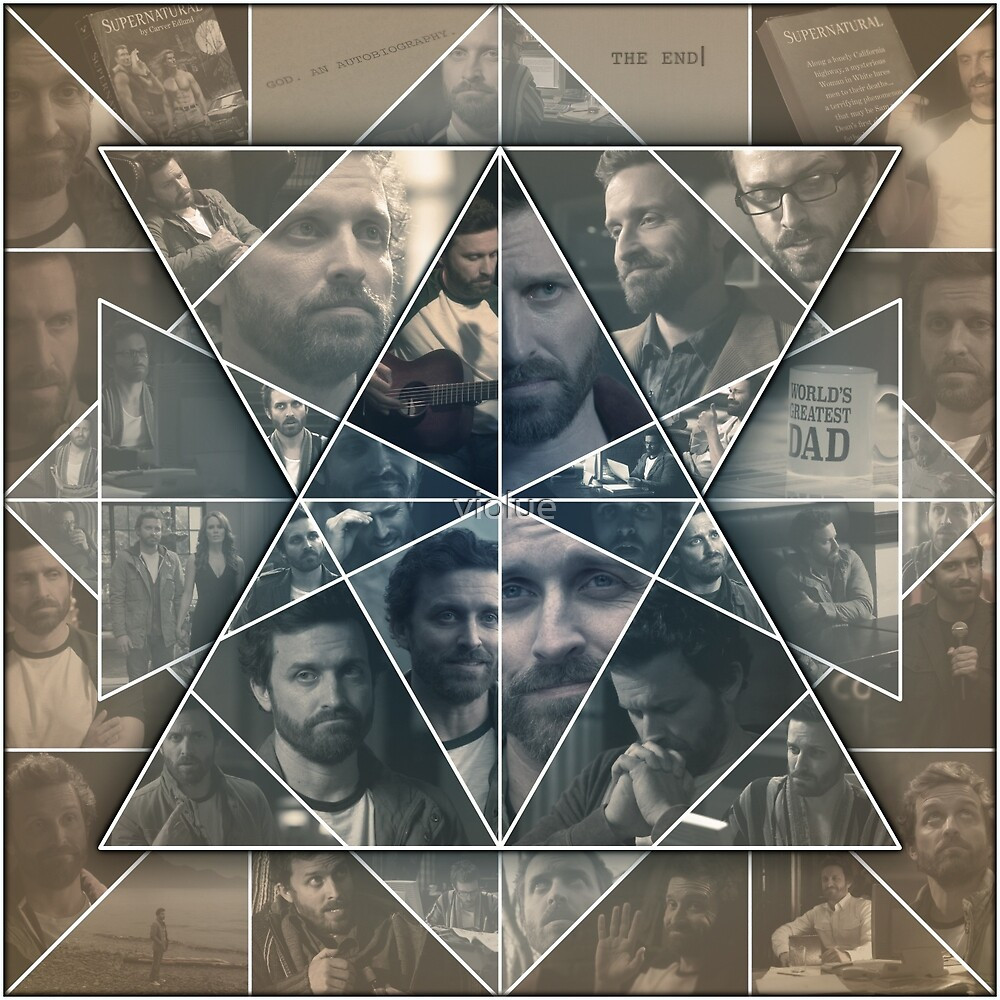 Chuck Shurley Collage by violue