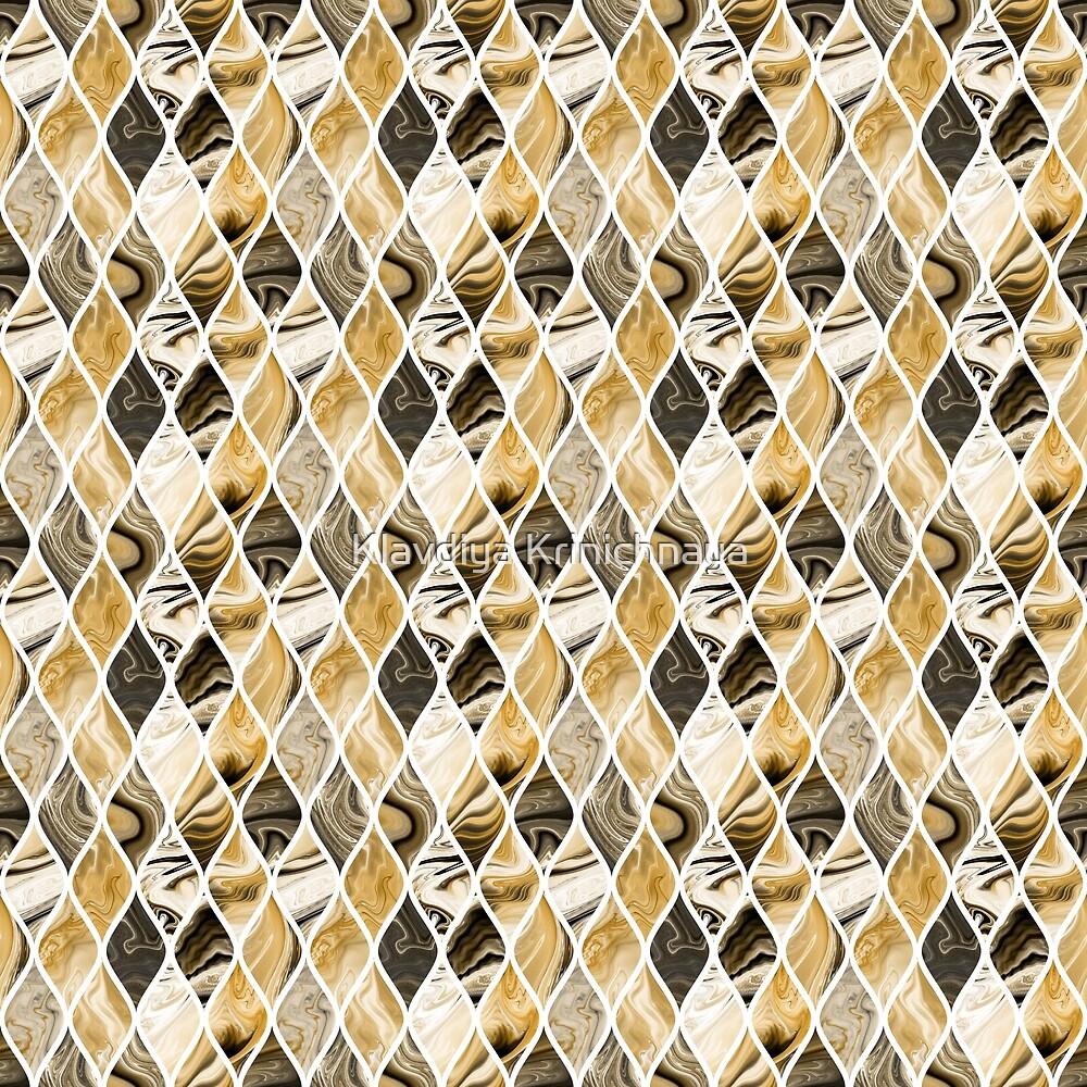 Golden scales by Klavdiya Krinichnaya