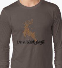 i am not a bambi dude Long Sleeve T-Shirt