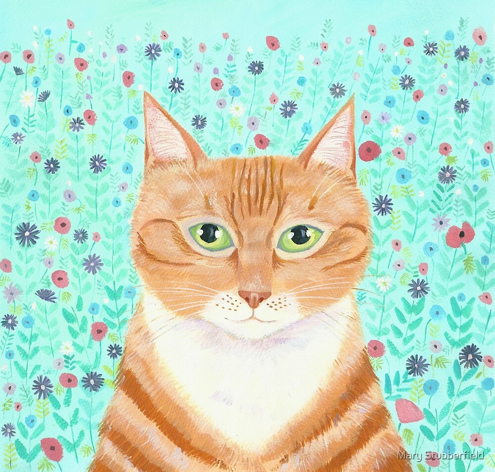 Ginger in the Garden by Mary Stubberfield