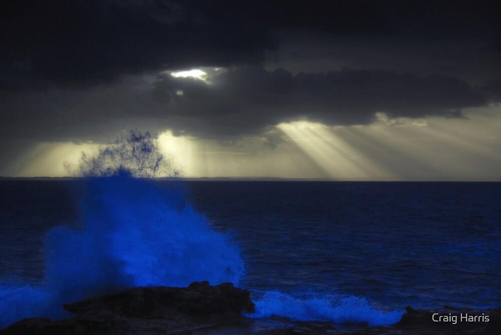 Stormy Morning Breaker by Craig Harris