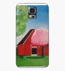 Red Barn Case/Skin for Samsung Galaxy