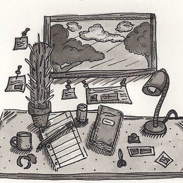 Work Space by KaitlinDonovan