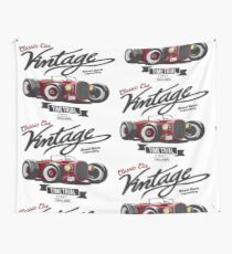 CLASSIC CAR VINTAGE Wall Tapestry