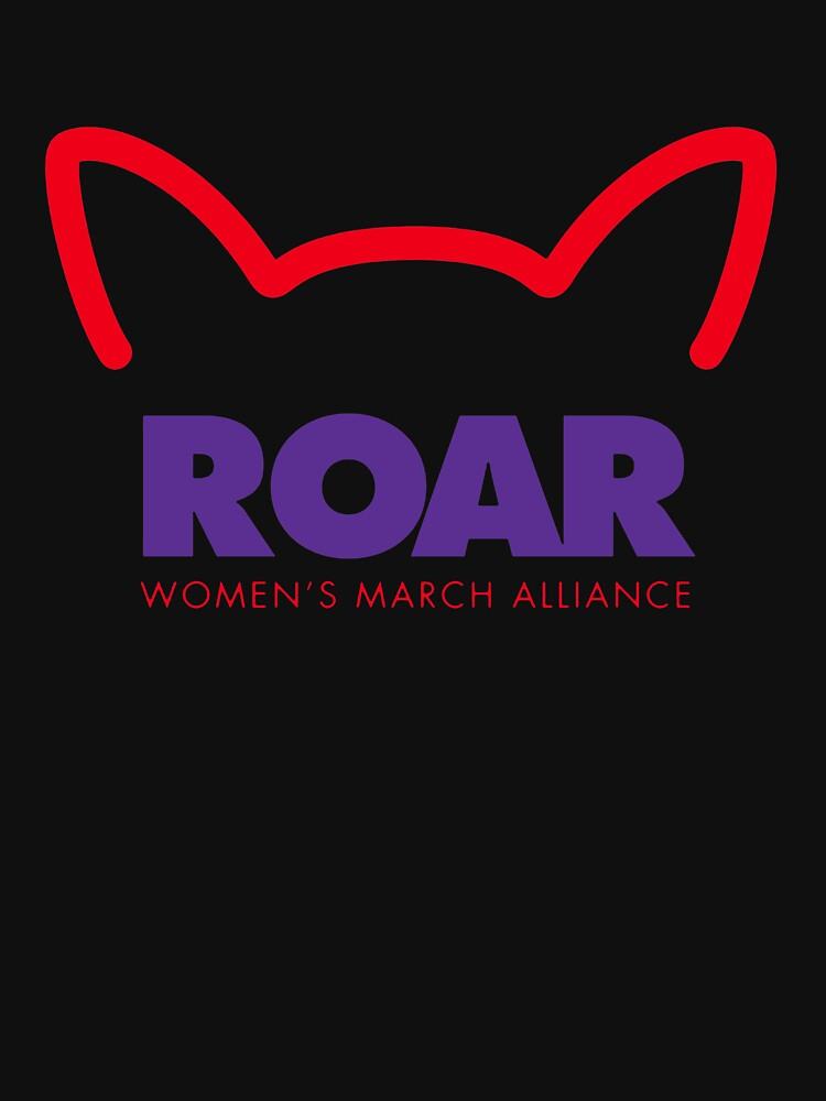 Pussy ROAR - Women's March Alliance by mekaolivya33