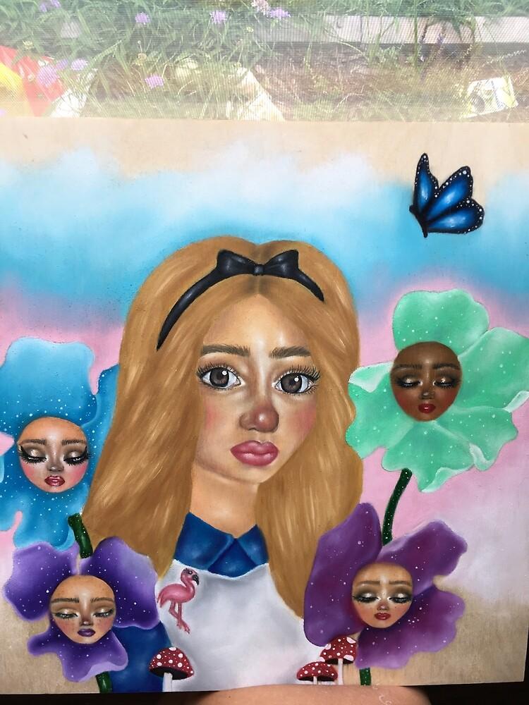 Alice in wonderland  by Brianna Gentile