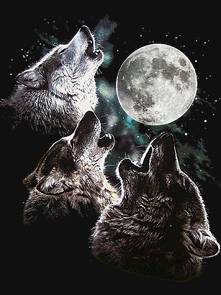 WOLF LIVING FOR MOON by cordmarcos