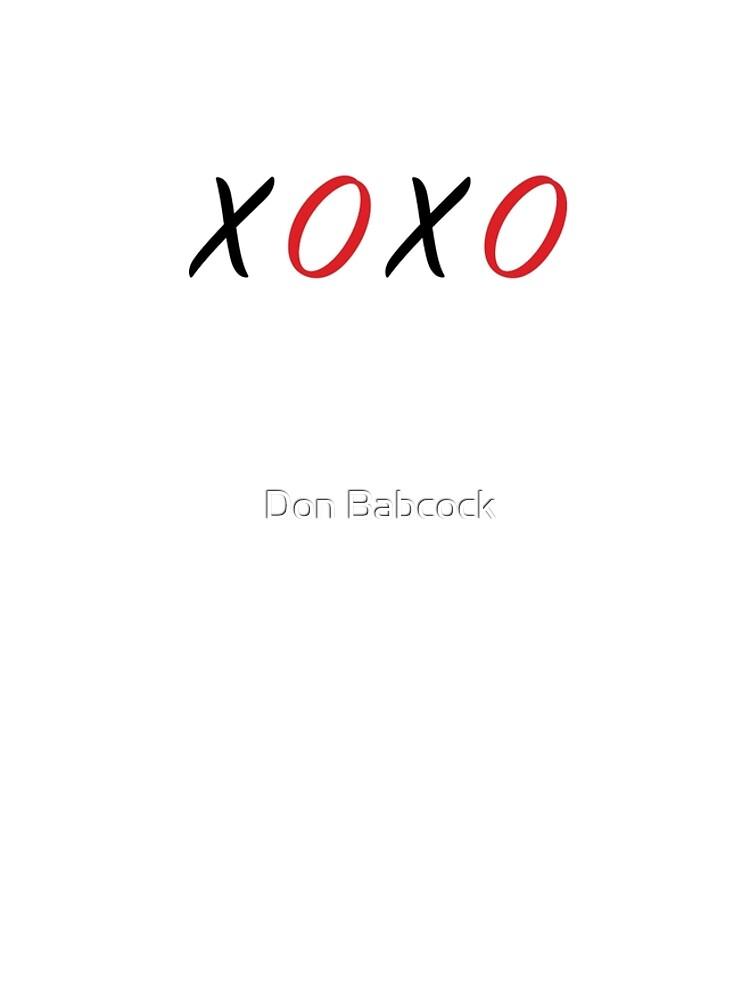 XOXO Hugs & Kisses by MDBMerch