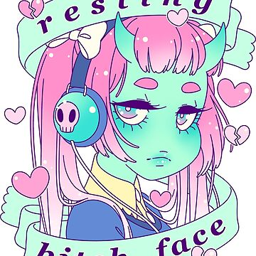 Resting Bitch Face by ghoulkiss