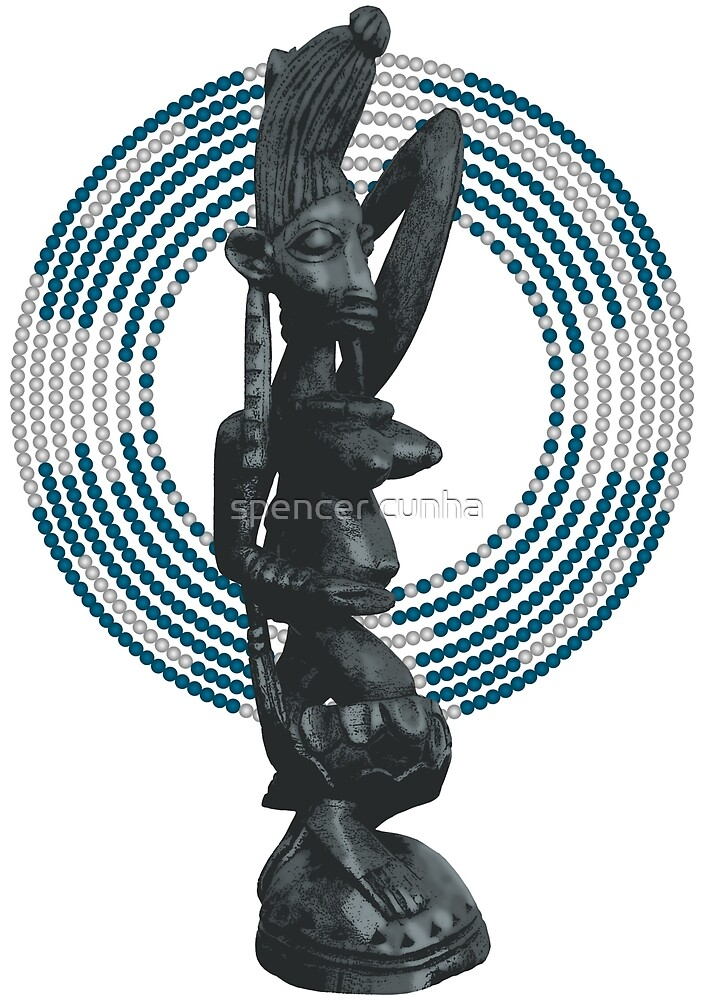 Art Yoruba Yemanjá by spencer cunha