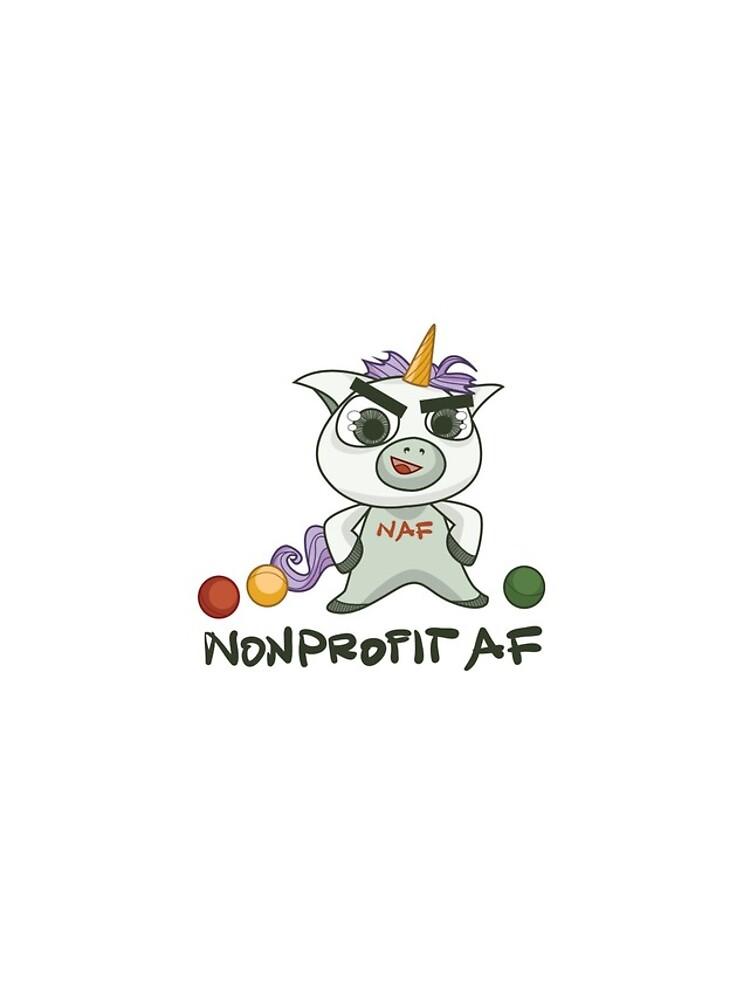 Die gemeinnützige AF-Linie - Weil Sie ein Einhorn sind von nonprofitwballs