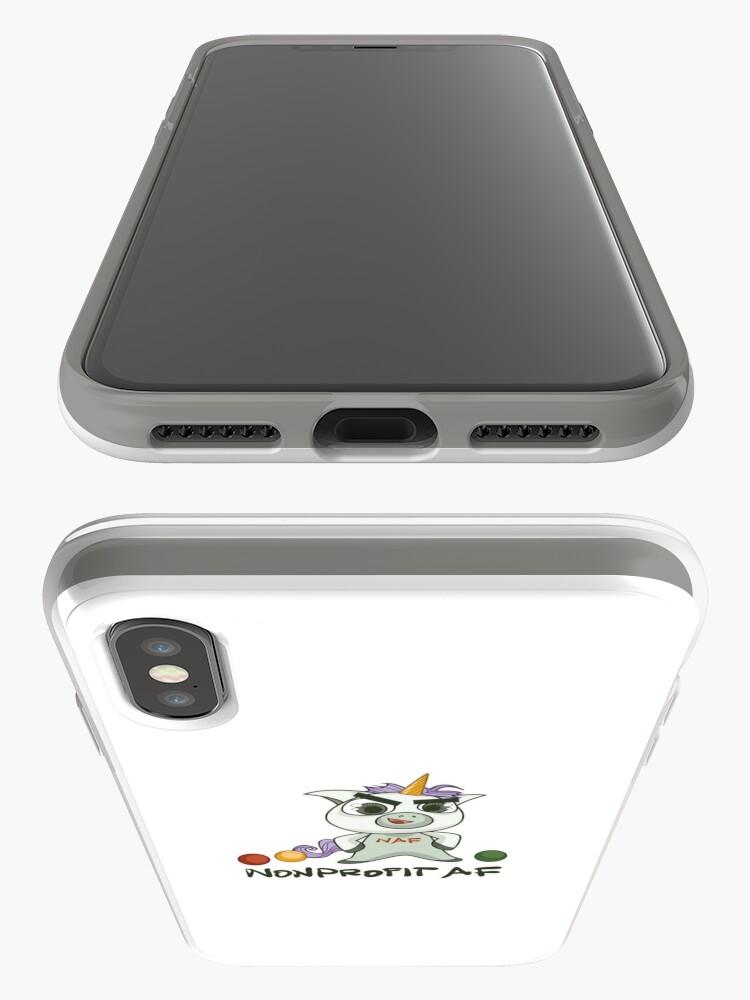 Alternative Ansicht von Die gemeinnützige AF-Linie - Weil Sie ein Einhorn sind iPhone-Hülle & Cover