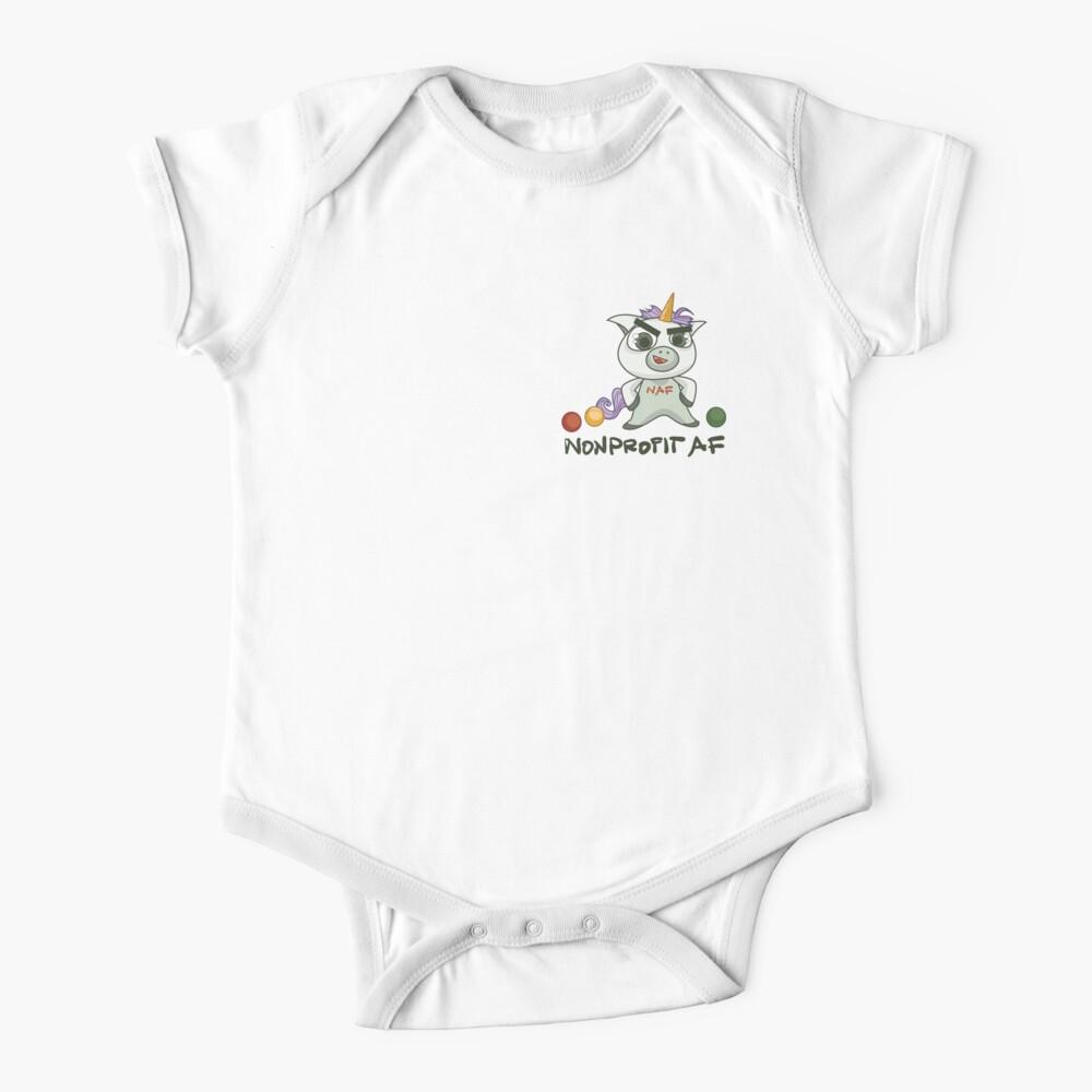 Die gemeinnützige AF-Linie - Weil Sie ein Einhorn sind Baby Body