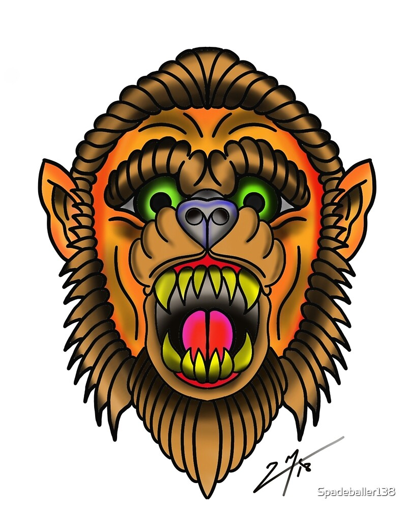 Wolfman Beast by Spadeballer138