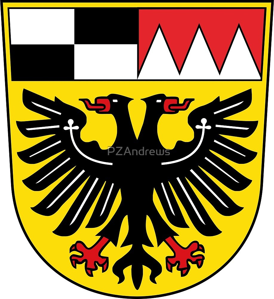 Coat of Arms of Ansbach (district), Germany by PZAndrews