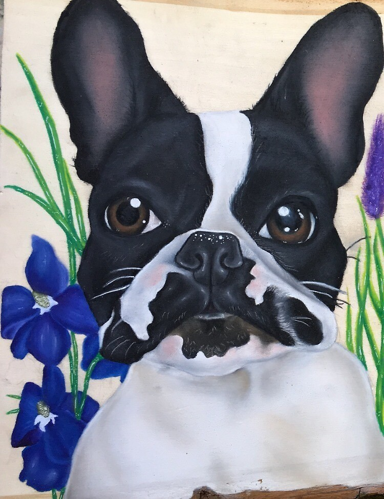 Frenchie by Brianna Gentile