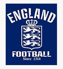 England Football Since 1314 Photographic Print