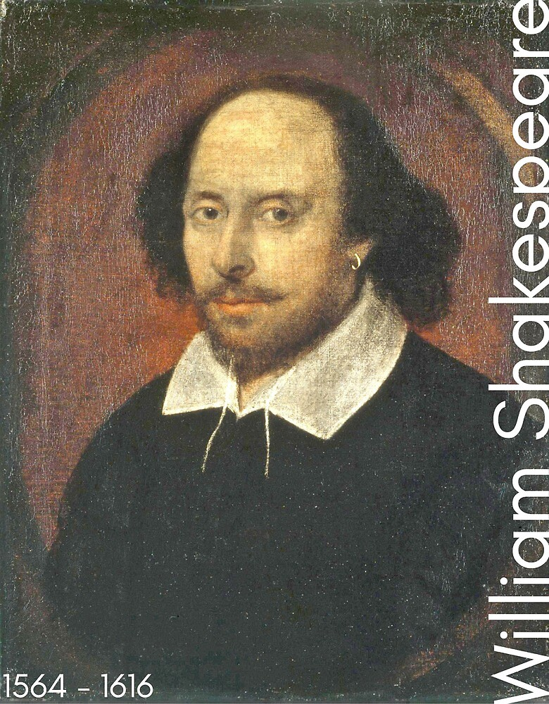 William Shakespeare by LiterateGifts