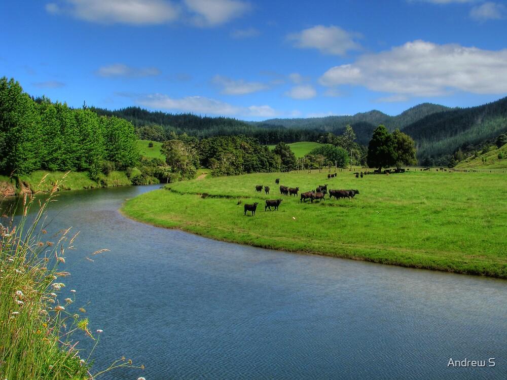 Moooooo River by Andrew S