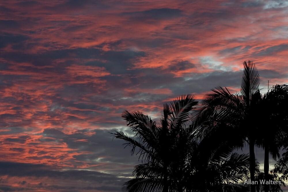 Evening Sky by Allan Walters