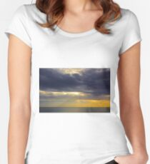 Seascape Escape Women's Fitted Scoop T-Shirt
