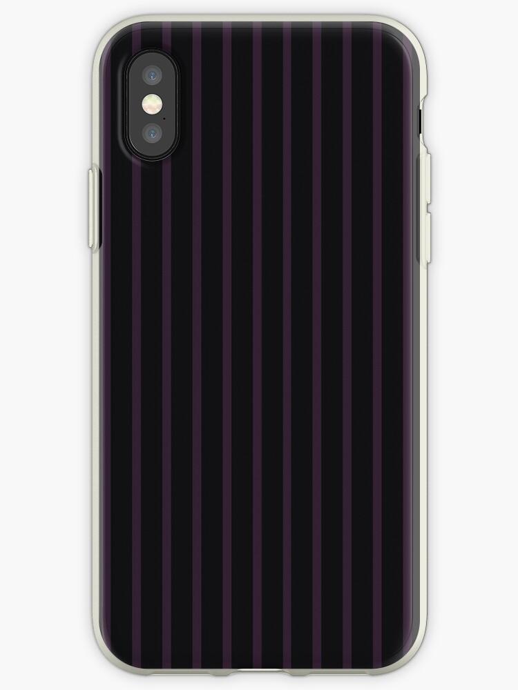 Purple/Black 2-Tone Stripes by sidebar