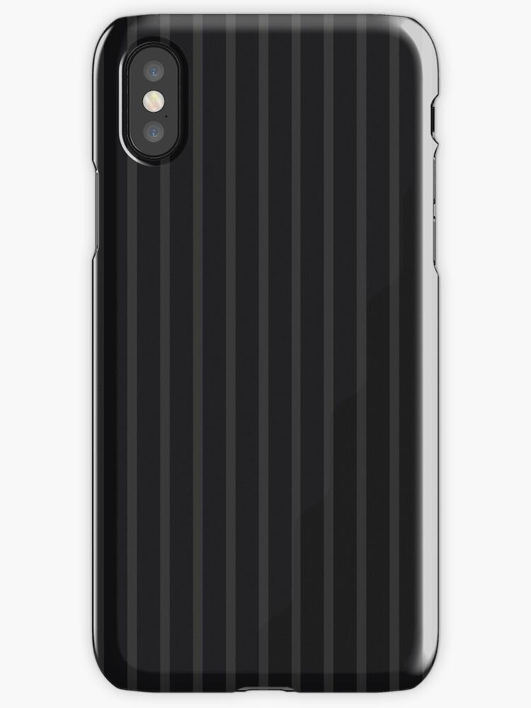 2-Tone Gray/Black Narrow Stripes by sidebar