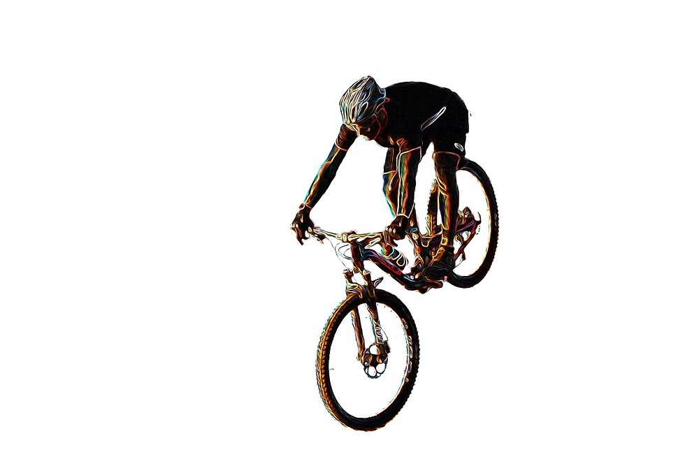 Mountain Biker by EberSucher